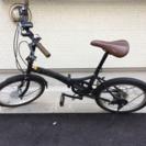 折り畳み自転車  7月30日までに取りに来られる方
