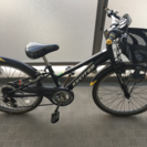 子供用自転車マウンテンバイク24インチ6段変速