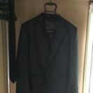 喪服 スーツ 上下 黒ネクタイ付き
