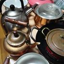 鍋&やかんいっぱいあります☆