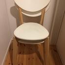 IKEA/イケアのチェア(NORDMYRA チェア, ホワイト, ...