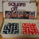 『Square Off』Parker Brothers Game...