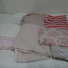 【値下げしました】marie claireの夏用掛け布団の他、枕カ...
