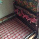 木製組み立てベッド