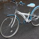 24インチ 子供用自転車(女の子用 中古)