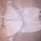 【値下げ!!】ベビー服!白のセレモニードレス3点セット!【サイズ5...