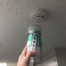 消防設備の点検補助