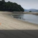 8月27日竹原の海でウェイクサーフィンBBQ