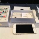 iPhone5S ゴールド ソフトバンク 16gb白ロム端末 箱...