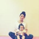ママとベビーのヨガ  yoga rainbow