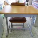レトロ 学習机 椅子付