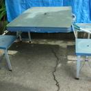 ■4人掛け折りたたみ式 アウトドアテーブル