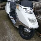 フュージョン、ビックスクーター、スクーター、バイク、セキュリティ付き。新価格の画像