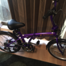 新品の折りたたみ自転車