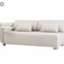 IKEA ソファー 3人がけ オフホワイトカバー付き