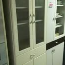[食器棚/白ホワイト]⁑リサイクルショップヘルプ