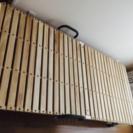 折りたたみシングル ベッド 木製(未使用)