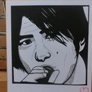 <切り絵>ミスチル・桜井和寿1