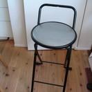 (終了しました)折り畳みパイプ椅子、ハイチェア 中古