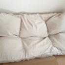 無印良品 クッションでできたソファー
