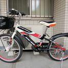 20インチ 子供用自転車(シマノ6段ギア搭載)