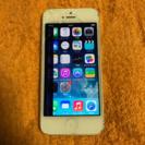 iPhone5 32GB 液晶割れ 背面エクボ凹み