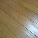 ウッドカーペット6畳用中古/木/床/フロア/