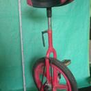 一輪車、中古品 タイヤ外径約40cm