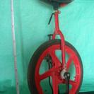 中古一輪車、タイヤ外径約44cm