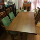 椅子3客 和風テーブル 幅160 奥78高さ64