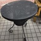 IKEA イケア ブラック サイドテーブル
