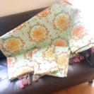 緊急セール!【美品★】インド ベッドカバー 枕カバーセット