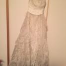 ウエディングドレス 定価37万円