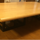 TOKAI KAGU 国産ダイニングテーブル(天然木)