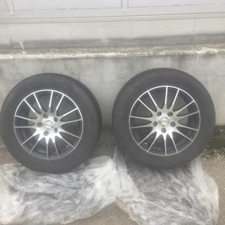 205/55R16 アルミ付きタイヤ2本セット