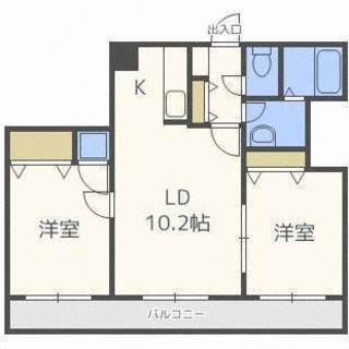 【中央区】ペット☆グルーミングルーム完備♪オール電化の1L物件!