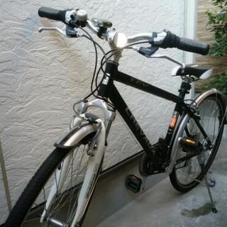 使用回数少ないクロスバイクです!