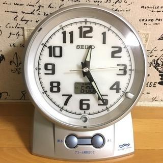 SEIKO 目覚し時計 電波時計