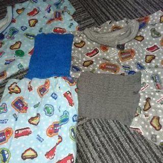 子ども 半袖パジャマ 腹巻きズボン 2着セット 80サイズ