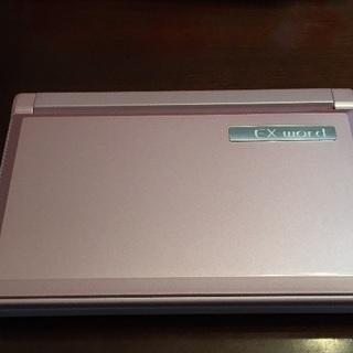 電子辞書 カシオ XD-A8500 ピンク色➕ケース
