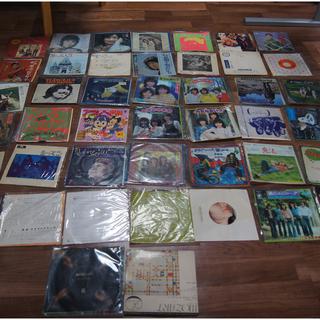 SPレコード アイドル 洋楽 ほか 約44枚 保存状態悪 未チェック