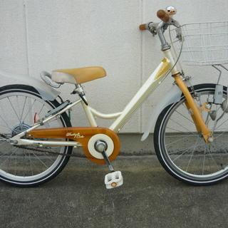 ツノダ  子供用自転車 20インチ プリティーキュート  レモンイ...