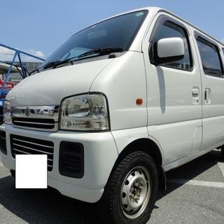 ☆彡62Wエブリィワゴン!ジョイポップターボ4WD・5MT☆彡検3...