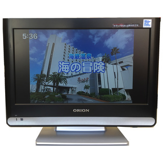 値下げしました【16V型】オリオン16インチ 液晶テレビ HDMI...