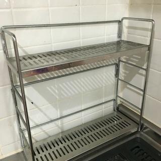 調味料置きに!キッチン棚