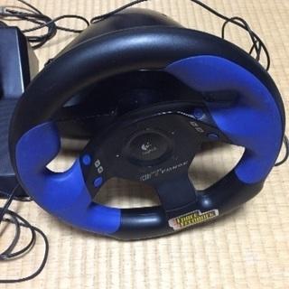 PS2 GT-Force ハンドルコントローラー