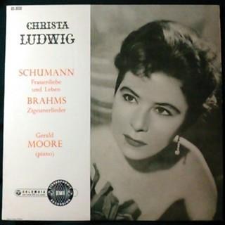 【LPレコード】クリスタ・ルートヴィッヒ シューマン&ブラームス歌曲集
