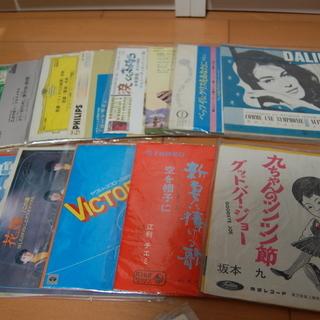 中古レコード(EP、LP盤等)ジャンル雑多