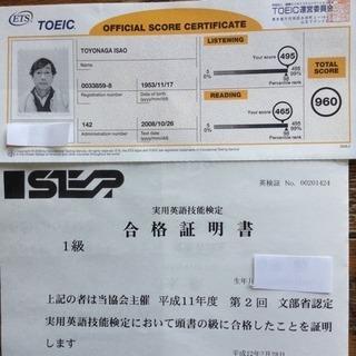 英検1級の家庭教師が-英検-英語4技能入試をサポートします。 - 横浜市