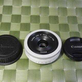CANON EF40mm F2.8 STM WHITE